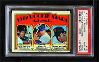 High # - Rookie Stars A.L.-N.L. (Ben Oglivie, Ron Cey, Bernie Williams) [PSA&nb…