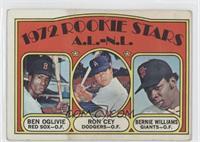 Rookie Stars A.L.-N.L. (Ben Oglivie, Ron Cey, Bernie Williams) [Poorto&nb…