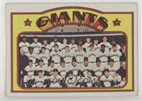 High # - San Francisco Giants Team