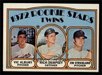 Rookie Stars Twins (Vic Albury, Rick Dempsey, Jim Strickland) [NMMT]