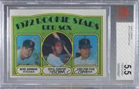 Red Sox Rookie Stars (Mike Garman, Cecil Cooper, Carlton Fisk) [BVG5.5&nb…