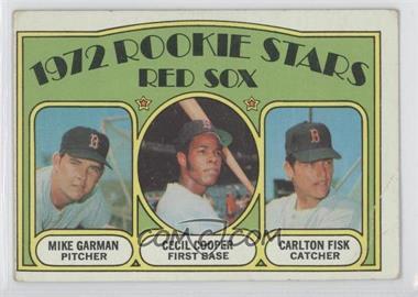 1972 Topps - [Base] #79 - Red Sox Rookie Stars (Mike Garman, Cecil Cooper, Carlton Fisk) [PoortoFair]