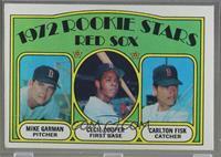Red Sox Rookie Stars (Mike Garman, Cecil Cooper, Carlton Fisk) [Goodto&nb…