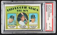 Red Sox Rookie Stars (Mike Garman, Cecil Cooper, Carlton Fisk) [PSA 6 …