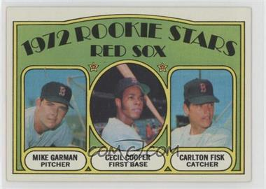 1972 Topps - [Base] #79 - Red Sox Rookie Stars (Mike Garman, Cecil Cooper, Carlton Fisk)