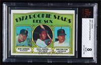 Red Sox Rookie Stars (Mike Garman, Cecil Cooper, Carlton Fisk) [BVG8…