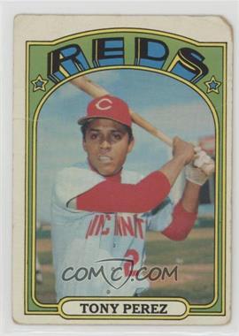 1972 Topps - [Base] #80 - Tony Perez [Poor]