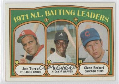 1972 Topps - [Base] #85 - 1971 N.L. Batting Leaders (Joe Torre, Ralph Garr, Glenn Beckert)