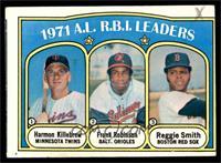 A.L. R.B.I. Leaders (Harmon Killebrew, Frank Robinson, Reggie Smith) [FAIR]
