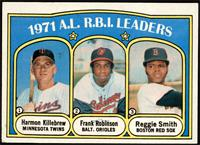 A.L. R.B.I. Leaders (Harmon Killebrew, Frank Robinson, Reggie Smith) [EX+]