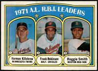 A.L. R.B.I. Leaders (Harmon Killebrew, Frank Robinson, Reggie Smith) [VG]