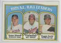 A.L. R.B.I. Leaders (Harmon Killebrew, Frank Robinson, Reggie Smith)