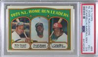 1971 N.L. Home Run Leaders (Willie Stargell, Hank Aaron, Lee May) [PSA3.5…