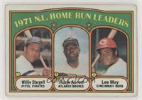 1971 N.L. Home Run Leaders (Willie Stargell, Hank Aaron, Lee May) [Goodto…