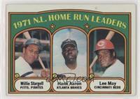1971 N.L. Home Run Leaders (Willie Stargell, Hank Aaron, Lee May)