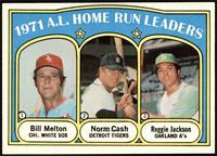 A.L. Home Run Leaders (Bill Melton, Norm Cash, Reggie Jackson) [NM]