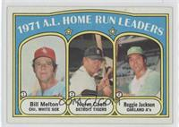 A.L. Home Run Leaders (Bill Melton, Norm Cash, Reggie Jackson)