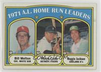A.L. Home Run Leaders (Bill Melton, Norm Cash, Reggie Jackson) [Good to&nb…