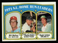 A.L. Home Run Leaders (Bill Melton, Norm Cash, Reggie Jackson) [NM MT]