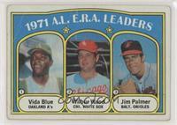 A.L. E.R.A. Leaders (Vida Blue, Wilbur Wood, Jim Palmer) [PoortoFai…