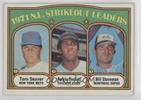 1971 N.L. Strikeout Leaders (Tom Seaver, Fergie Jenkins, Bill Stoneman)