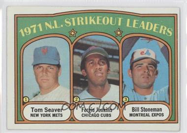1972 Topps - [Base] #95 - 1971 N.L. Strikeout Leaders (Tom Seaver, Fergie Jenkins, Bill Stoneman)