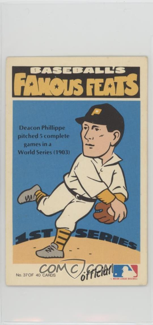 1973 Fleer Real Cloth Baseball Patches Laughlin Baseballs