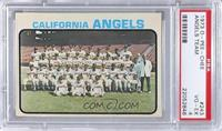 California Angels Team [PSA 4]