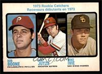 1973 Rookie Catchers (Bob Boone, Skip Jutze, Mike Ivie) [EXMT]