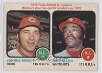 Johnny Bench, Dick Allen