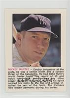 Mickey Mantle [Noted]