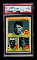 All Time Home Run Leaders (Babe Ruth, Hank Aaron, Willie Mays) [PSA 6&nbsp…