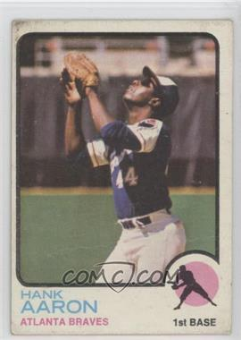 1973 Topps - [Base] #100 - Hank Aaron [Poor] - Courtesy of COMC.com
