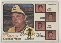 Padres Field Leaders (Don Zimmer, Dave Garcia, Johnny Podres, Bob Skinner, Whit…