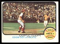 World Series Game 5 (Odom Out at Plate) [VG]