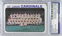 St. Louis Cardinals Team [PSA/DNA Certified Encased]
