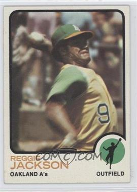 1973 Topps - [Base] #255 - Reggie Jackson