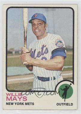 1973 Topps - [Base] #305 - Willie Mays