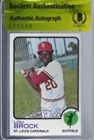 Lou Brock [BAS Certified BGS Encased]