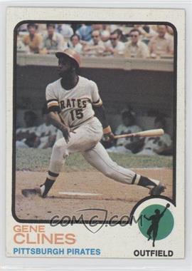 1973 Topps - [Base] #333 - Gene Clines