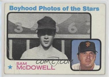1973 Topps - [Base] #342 - Sam McDowell [Poor]