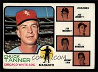 Chuck Tanner, Joe Lonnett, Jim Mahoney, Al Monchak, Johnny Sain [VG]