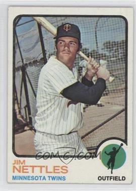1973 Topps - [Base] #358 - Jim Nettles