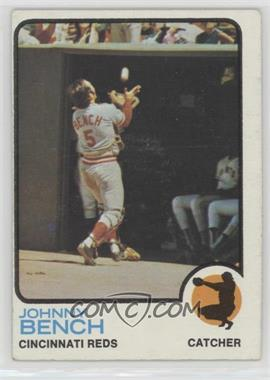 1973 Topps - [Base] #380 - Johnny Bench