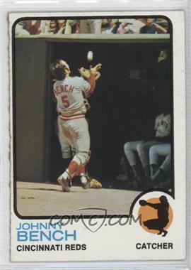 1973 Topps - [Base] #380 - Johnny Bench