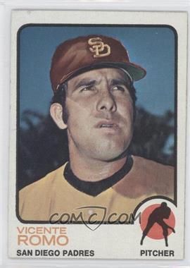 1973 Topps - [Base] #381 - Vicente Romo
