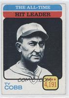 Ty Cobb (All-Time Hit Leader)