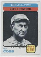 Ty Cobb (All-Time Hit Leader)