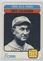 Ty Cobb (All-Time Hit Leader) [PoortoFair]