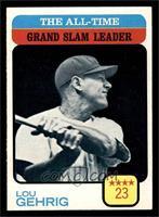 Lou Gehrig [NM]